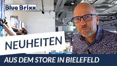 Youtube: Neuheiten @ BlueBrixx - heute aus dem Store in Bielefeld!