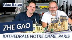 Youtube: Kathedrale Notre Dame, Paris von Zhe Gao @ BlueBrixx