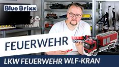 Youtube: Feuerwehr LKW WLF Kran von BlueBrixx