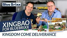 Youtube: XingBao for BlueBrixx: Kingdom Come Deliverance - Kuneshs & Deutschs Haus