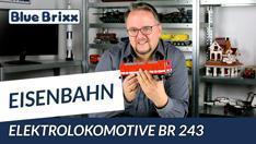 Youtube: Elektrolokomotive BR 243 von BlueBrixx