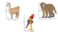 Bald erhältlich: Neue Tiere von der Marke Jekca Limited !!