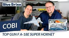 Youtube: Top Gun - F/A-18E Super Hornet von Cobi @ BlueBrixx