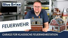 Youtube: Garage der klassischen Feuerwehrstation von BlueBrixx