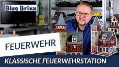 YouTube: Klassische Feuerwehrstation von BlueBrixx