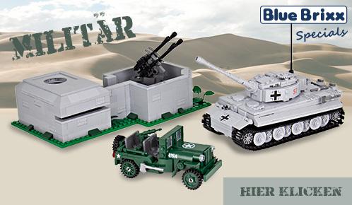 BlueBrixx Specials Militär Modelle