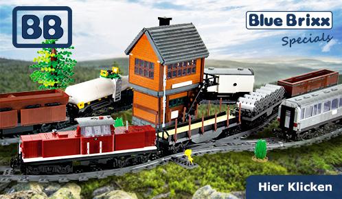 BlueBrixx Eisenbahnsets