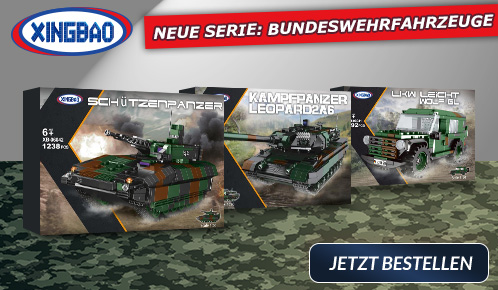Bundeswehr-Sets von Xingbao