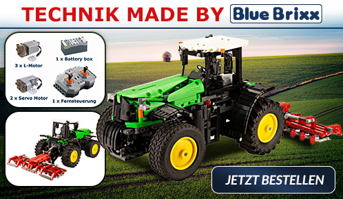 BlueBrixx RC Traktor
