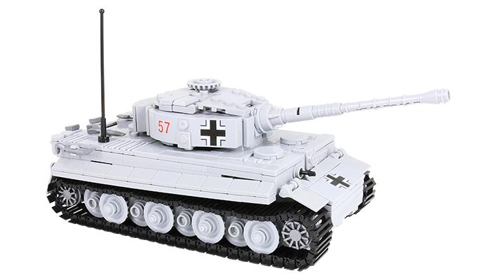 Panzer mit neuen Stickern