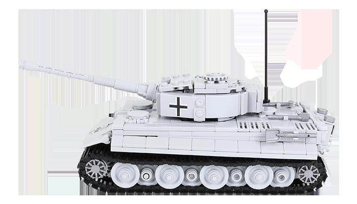 Panzer mit alten Stickern