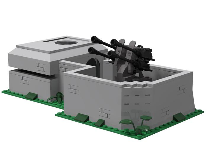 Bunker Flakstellung 1