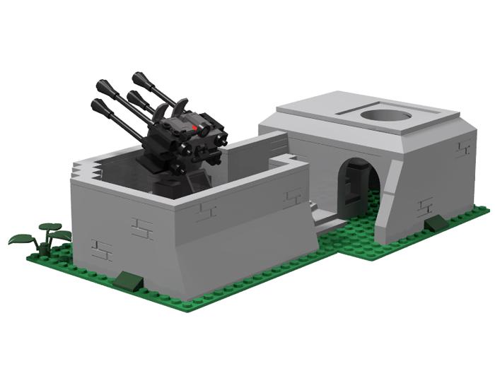 Bunker Flakstellung 2