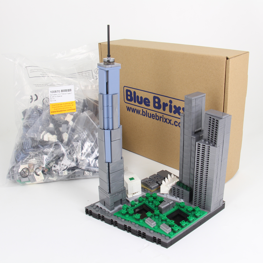 world trade center bluebrixx