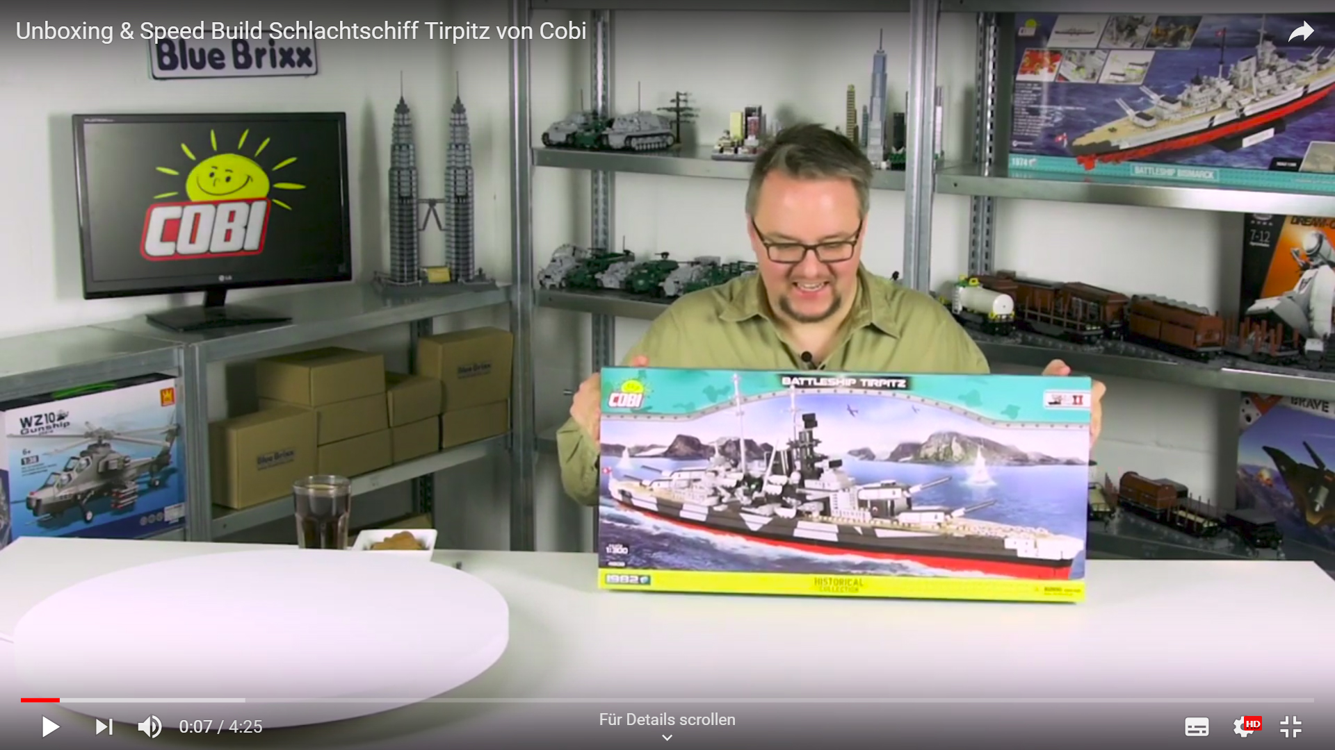 speed build tirpitz
