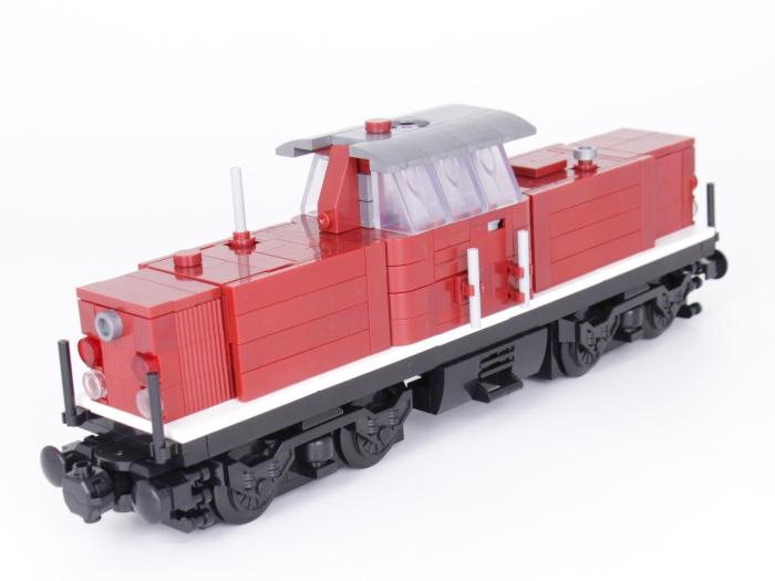 Bluebrixx Eisenbahn Lok V100