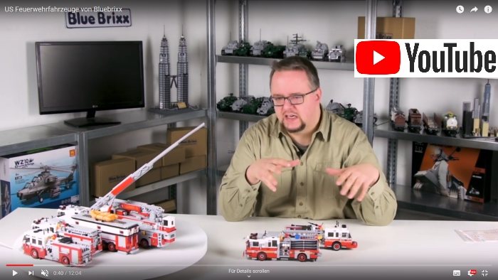 Bluebrixx Youtube Feuerwehr