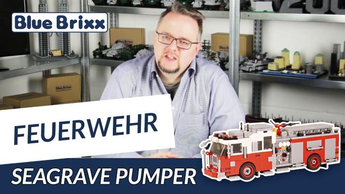 BlueBrixx Youtube Seagrave Pumper