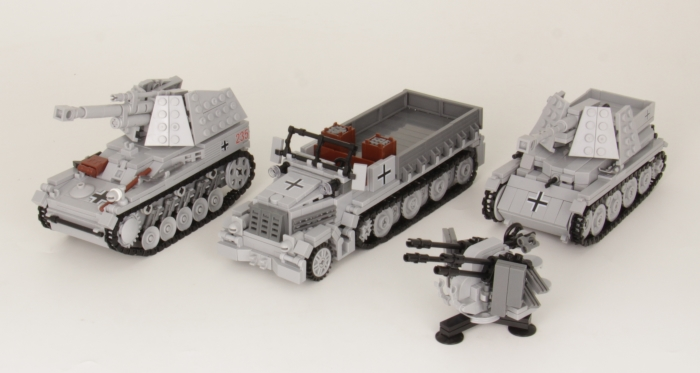 BlueBrixx CustomBricks Panzer
