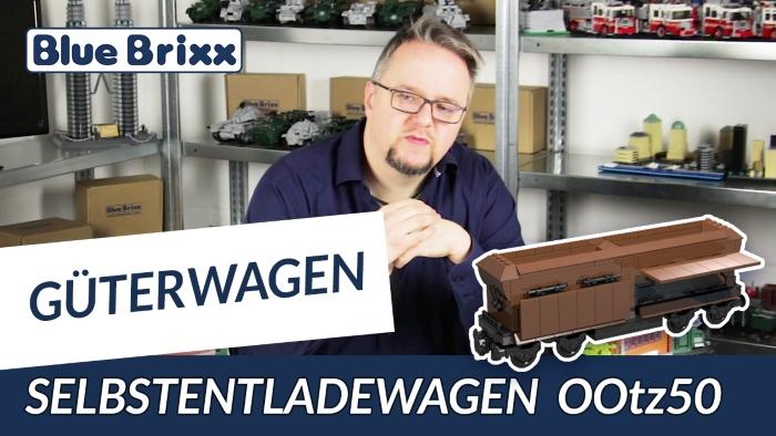 Youtube BlueBrixx Güterwagen OOtz 50