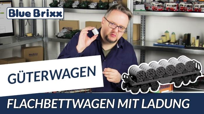 Youtube BlueBrixx Special Flachbettwagen