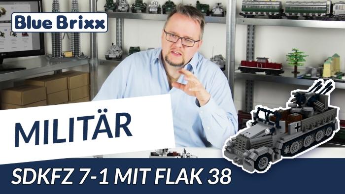 Youtube BlueBrixx Special SdKfz 7-1