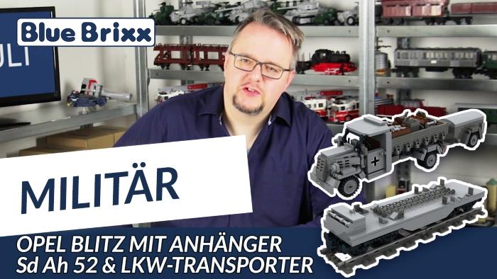 Youtube BlueBrixx Special Opel Blitz LKW-Transporter