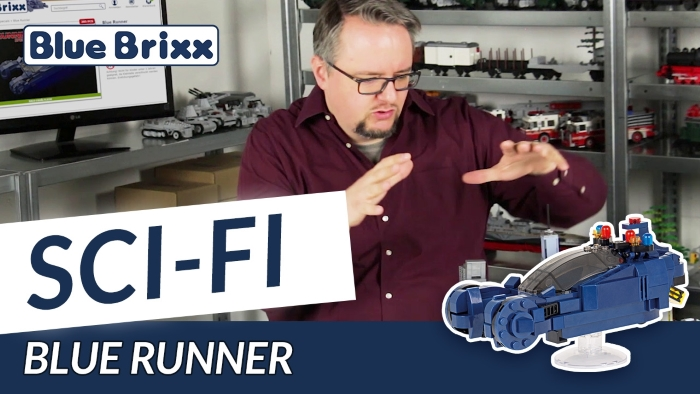 Youtube BlueBrixx Special Blue Runner