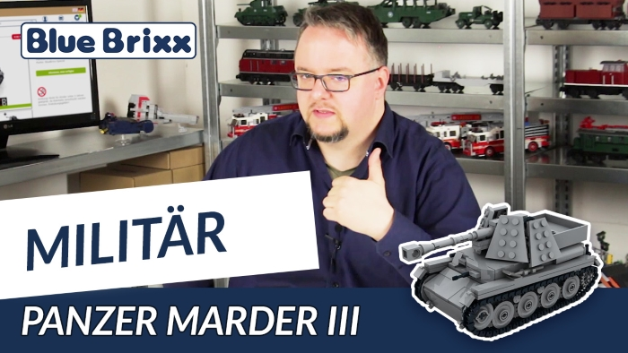 Youtube BlueBrixx Special Marder III