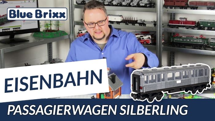 Youtube BlueBrixx Special Passagierwagen Silberling