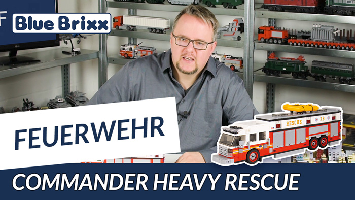Youtube BlueBrixx Special Commander Heavy Rescue
