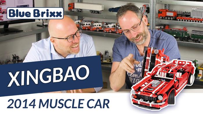 Youtube BlueBrixx Xingbao Muscle Car