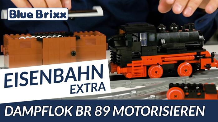 Youtube BlueBrixx BR 89 motorisieren