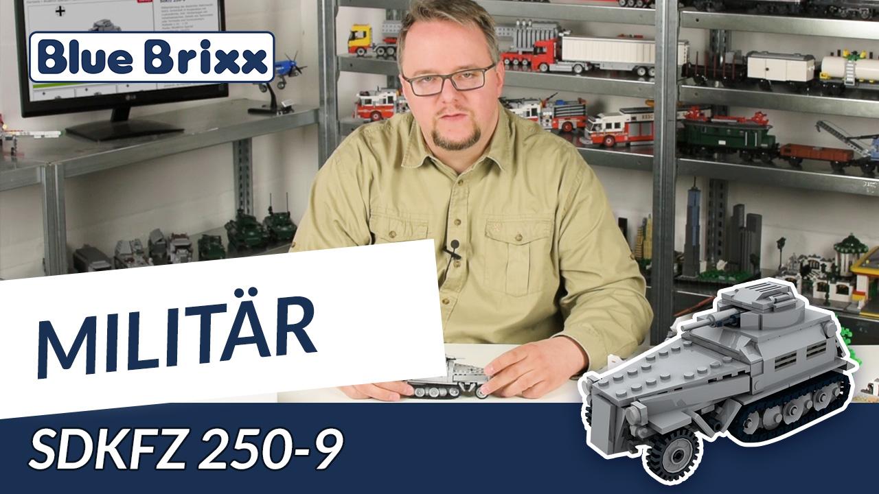 Youtube: SdKfz 250-9 von BlueBrixx