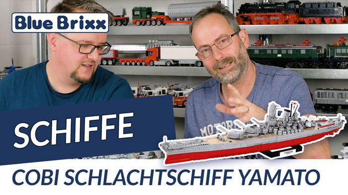 Youtube: 3083 Schlachtschiff Yamato von Cobi @ BlueBrixx - limitierte Edition!