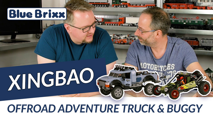 Youtube: Offroad Adventure Buggy & Truck von Xingbao @ BlueBrixx