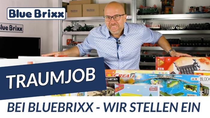 Youtube: Wir stellen ein - neuer Traumjob bei BlueBrixx