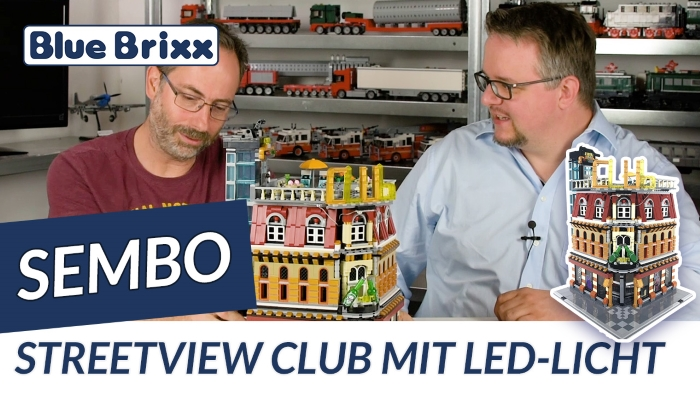 Youtube: Sembo Streetview Club mit LED-Licht @ BlueBrixx