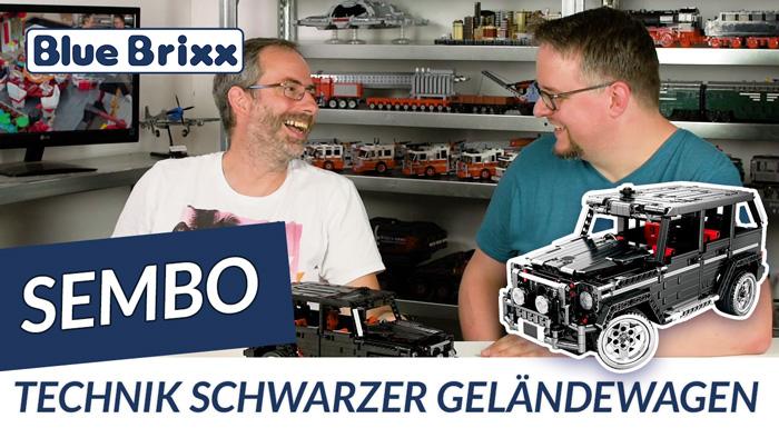 Youtube: Schwarzer Geländewagen von Sembo @ BlueBrixx