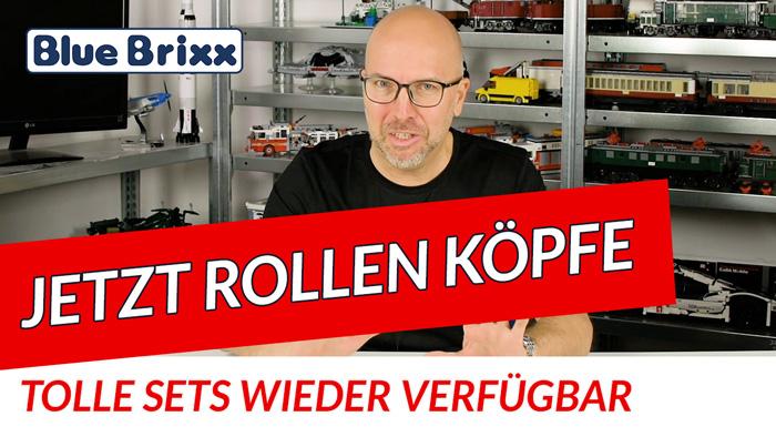 Youtube: Jetzt rollen Köpfe - tolle Sets wieder verfügbar!