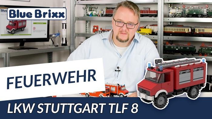 Youtube: Feuerwehrfahrzeug TLF 8 von BlueBrixx