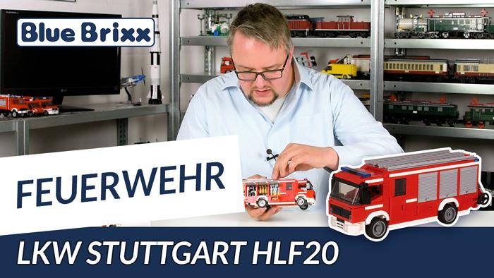 Youtube: Feuerwehrfahrzeug HLF 20 von BlueBrixx