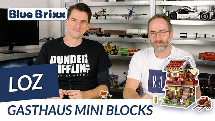 Youtube: Gasthaus von LOZ @ BlueBrixx - der Held der Steine baut Mini Blocks!