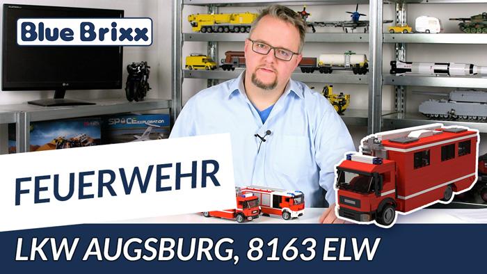 Feuerwehrfahrzeug ELW von BlueBrixx