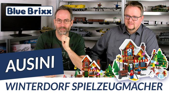 Youtube: Spielzeugmacher im Winterdorf von Ausini @ BlueBrixx