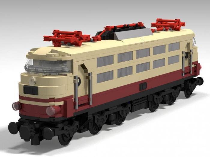 Lokomotive der Baureihe 103