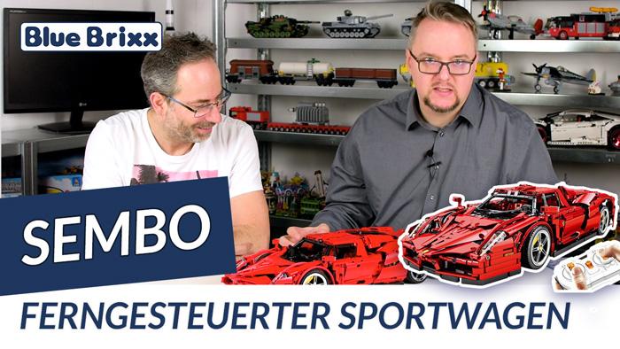 Sembo Sportwagen in rot SEM-701020