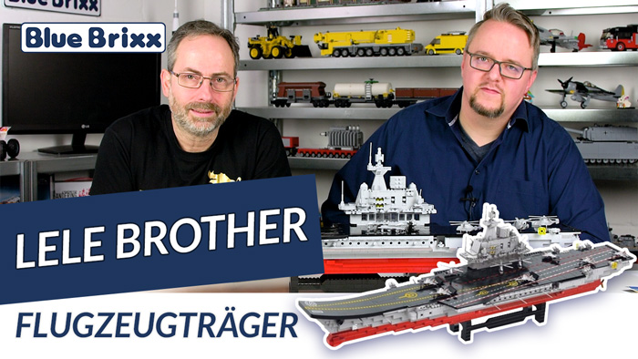 Youtube: Flugzeugträger von Lele Brother @ BlueBrixx