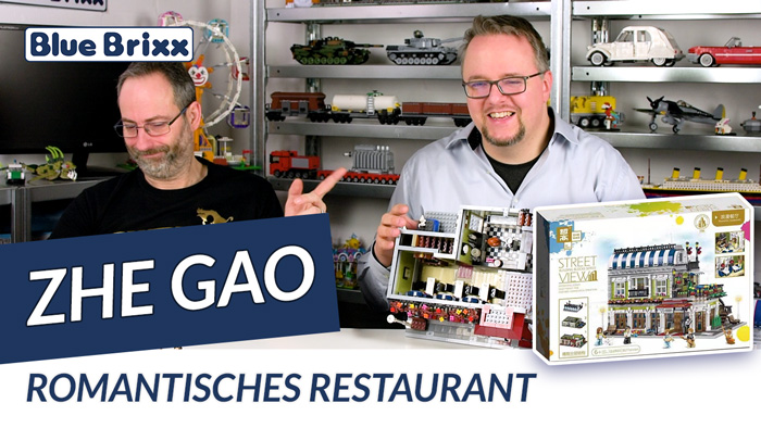 Youtube: Romantisches Restaurant von Zhe Gao @ BlueBrixx