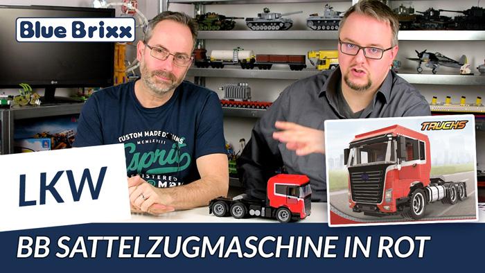Youtube: Rote Sattelzugmaschine @ BlueBrixx